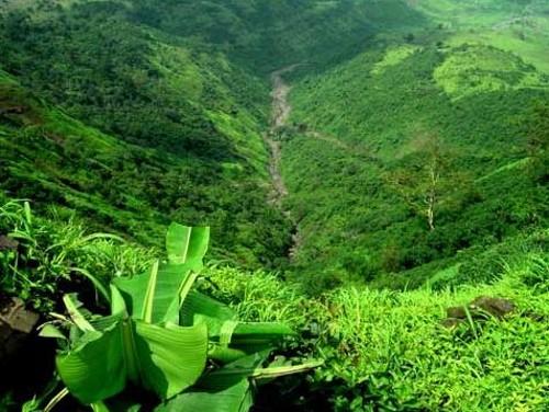 Una de las vistas que ofrece Matheran