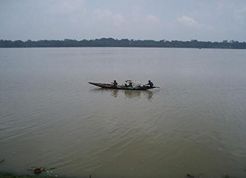 Siguiendo el curso del río Hooghly