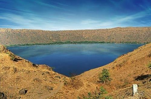 El cráter de Lonar