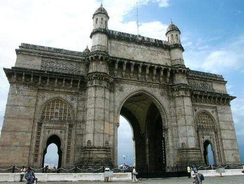 Puerta de la India, en Bombay